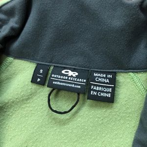 Outdoor Research Jackets & Coats - Outdoor Research softshell jacket, green, sz S
